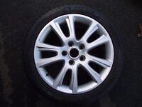 SKODA VRS AUDI VW SEAT SPARE ALLOY , NEW MITCHELIN TYRE