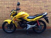 Honda CBF125 125cc *ONLY 228 MILES, LIKE NEW*
