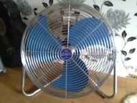 Electric Floor Fan Air Circulator. (from USA). Heavy duty/industrial.