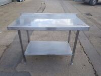 commercial stainless steel table prepration table work bench for restaurant