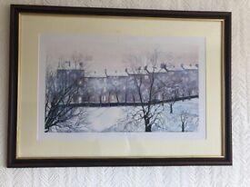 "AVRIL PATON ""The Pleasure Gardens"" framed print"