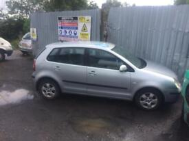 breaking for spares vw polo 1.4 tdi 2002