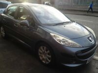 Peugeot 207 1.6.grey colour very good condition..good drive.