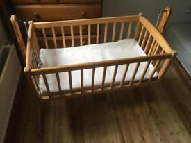 Baby items - bed, bath, carrier, car seat all smoke free and clean