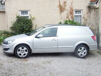 FOR SALE VAUXHALL ASTRA VAN SPORTIVE CDTI IN SILVER COLOUR