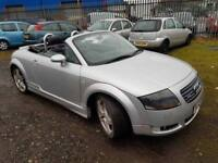 AUDI TT 225BHP CONVERTIBLE,, ( ANY OLD CAR PX WELCOME )