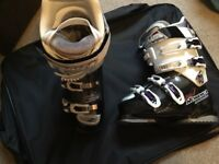 Nordica female Ski boots size 24.5 (never been worn)