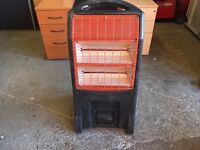 RHINO INFRA RED PORTABLE SPACE / WORKSHOP HEATER 110 VOLT NEW TUBES