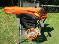 Flymo leaf blower vacuum