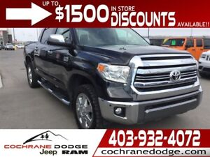 2016 Toyota Tundra Platinum 1794 - FULLY EQUIPPED!
