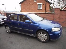 2004 VAUXHALL ASTRA CLUB{77K,AUTOMATIC}DRIVES WELL}