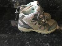 Regatta Isotex waterproof/ breathable kids size 12 walking boots
