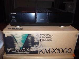 KENWOOD KM-X1000 AMPLIFIER  THX CERTIFIED
