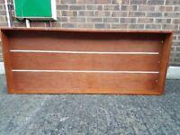 wooden underbed storage drawer