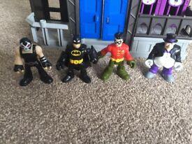 Imaginex Gotham City jail