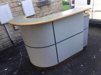 Ex Barclays front desk counter