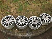 Golf Gt alloy wheels