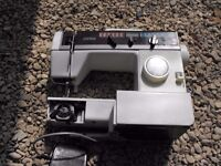 Jones electric zig zag sewing machine works but part missing vx561 model