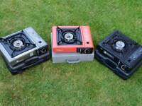 3 x single burner cookers