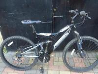 Muddyfox double disc mountain bike