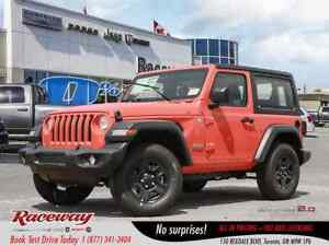 2018 Jeep All-New Wrangler Sport | AC | BLUETOOTH | NEW JL MODEL