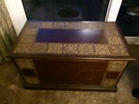 Mahogany Blanket Box / Chest