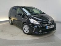 TOYOTA PRIUS PLUS 7 SEATS ONE COMPANY OWNER FROM NEW FULL HISTORY UK MODEL HPI CLEAR WARRANTED MILES