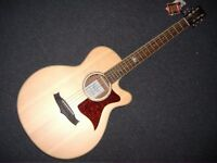 TANGLEWOOD PREMIER TW145SSCE SOLID SPRUCE TOP ELECTRO/ACOUSTIC GUITAR+FREEGIGBAG