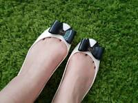 Ted Baker jelly pumps size 8