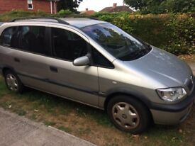 Vauxhall zafira ten months mot. Over £650 work done on car to pass mot. Has sensor fault