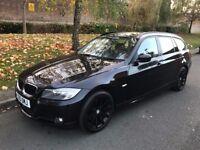 2010 BMW 3 Series 2.0 320d SE Business Edition Touring 5dr Estate Diesel Manual Black SAT/NAV