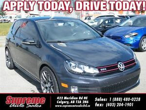 2013 Volkswagen Golf GTI S.ROOF/H.SEATS/LEATHER/6SPEED