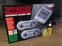 New Nintendo SNES Classic Mini console Swap for a good phone etc