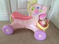 Fisher price sit and ride musical pony