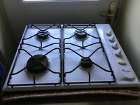Whirlpool Gas Hob in excellent condition. Must Collect.