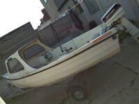 14ft Fishing boat Oarkney Coastliner