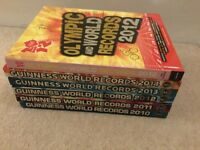 Guiness Workd Record books x 6