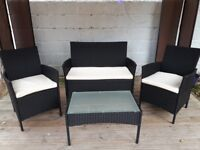 Garden Furniture For Sale Table 2 chairs and double sofa Bargain