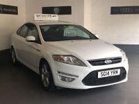 FORD MONDEO GRAPHITE 2.0 TDCI/2014-14/FULL MOT PLUS 6 MONTHS WARRANTY/ONLY £30 A YEAR ROAD TAX