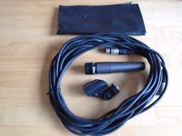 Shure SM57 Microphone + Lead (4 available)