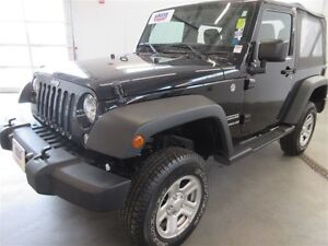 2016 Jeep Wrangler Sport! 4X4! HITCH! ONLY 37K! SAVE!