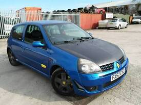 RENAULT CLIO 172 MODIFIED REMAPPED CHIPPED ECU