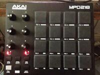AKAI MPD218 Midi Controller