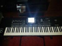 Korg Pa3x-76 keys