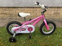 Specialized Hotrock Pink Girls First Bike with Stabilisers