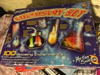 Chemistry set game toy