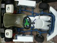 Petrol go kart honda gx160 twin engine