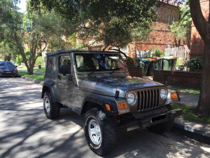 2005 Jeep Wrangler Convertible Bronte Eastern Suburbs Preview
