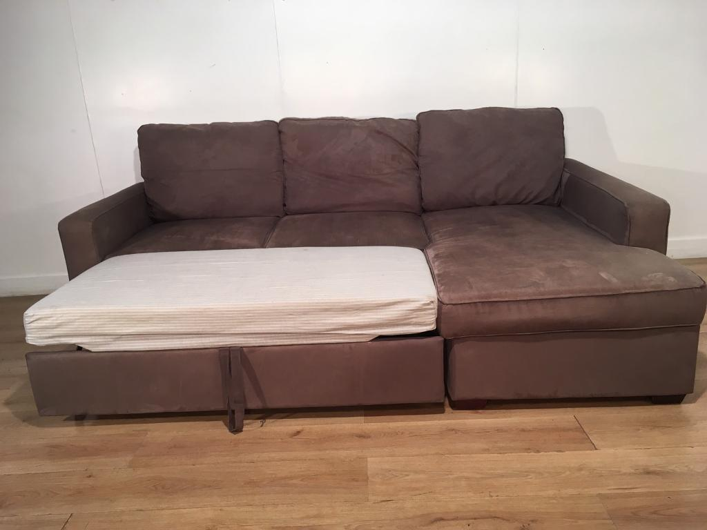 John Lewis Gray Corner Sofa Bed With Free Delivery Within 10 Miles In Rochester Kent Gumtree