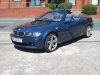 """03 BMW 318 CI CABRIOLET + 18"""" ALLOYS + LONG MOT"""